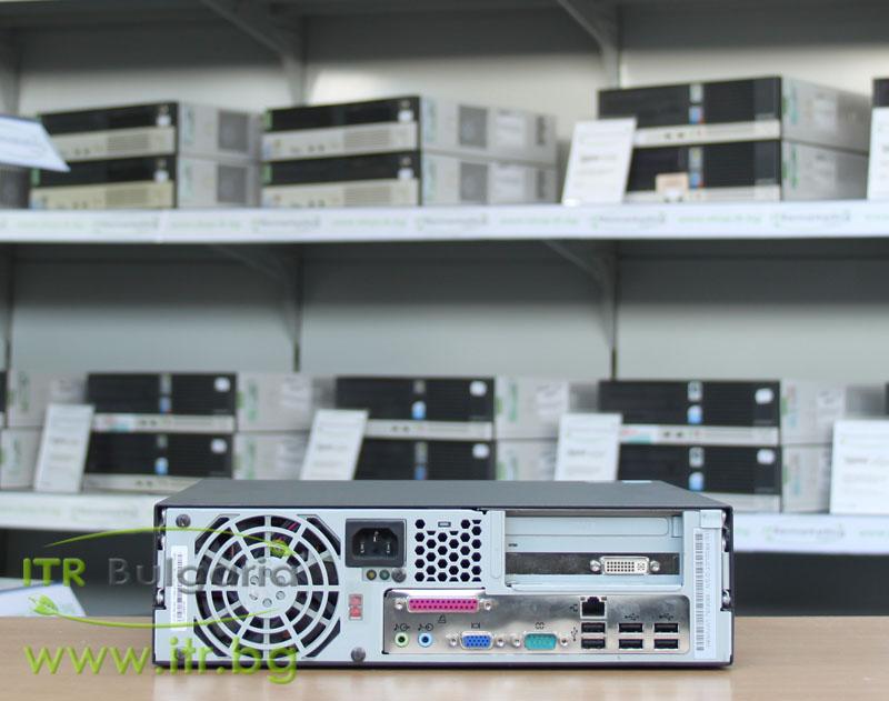 Lenovo ThinkCentre M55 А клас Intel Core 2 Duo E6600 2400Mhz 4MB 2048MB DDR2 80 GB SATA NO OD Slim Desktop