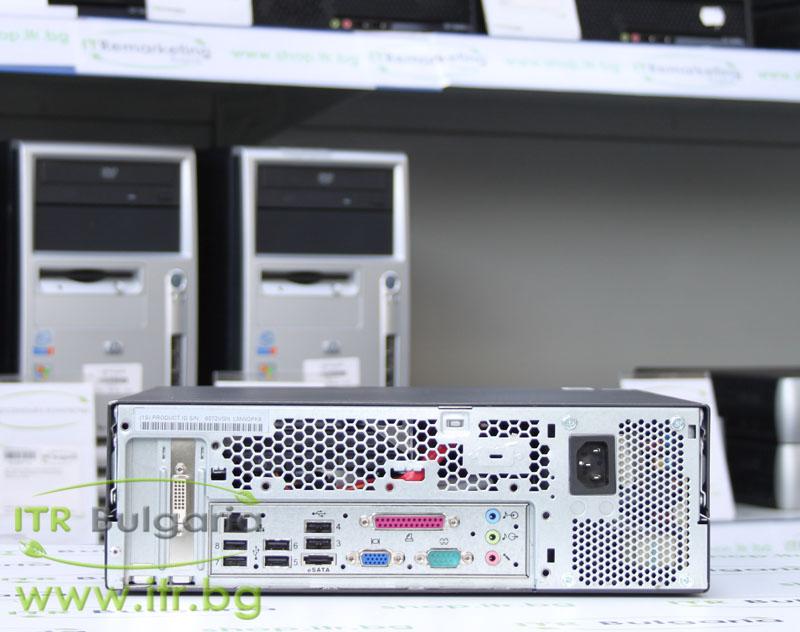 Lenovo ThinkCentre M57 А клас Intel Core 2 Duo E6750 2660Mhz 4MB 2048MB DDR2 160 GB SATA NO OD Slim Desktop