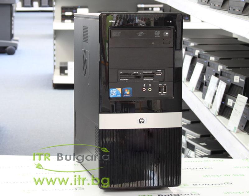 HP 3120 Pro MT А клас Intel Dual-Core E6700 3200MHz 2MB 4096MB DDR3 250 GB SATA DVD-RW MiniTower  Card Reader