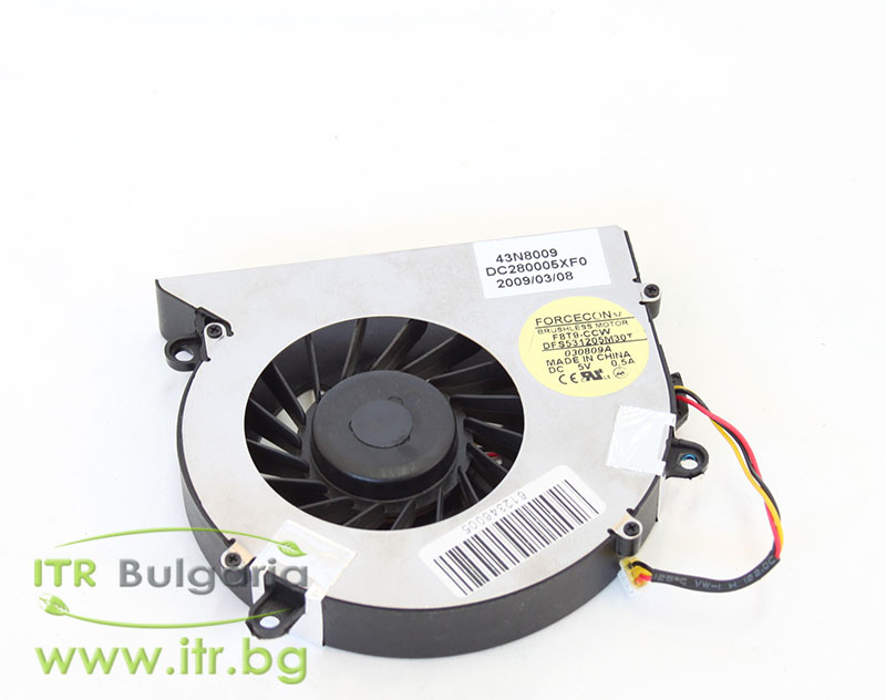 Lenovo G530 А клас 43N8009 FAN Original for Notebook