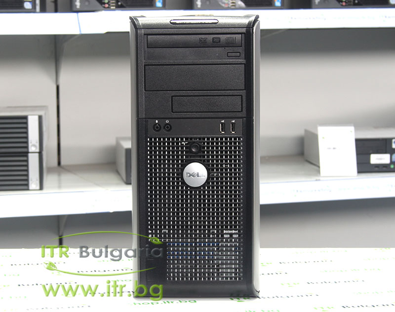 DELL OptiPlex 780 А клас Intel Dual-Core E5500 2800Mhz 2MB 4096MB DDR3 250 GB SATA DVD-RW Tower