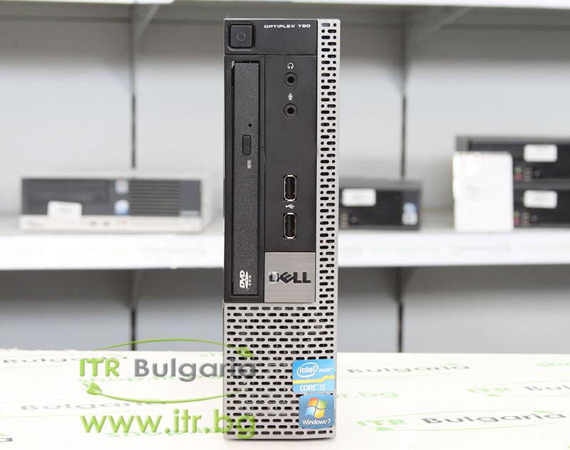 """DELL OptiPlex 790 А клас Intel Core i3 2120 3300Mhz 3MB 4096MB DDR3 200 GB SATA 2.5"""" Slim DVD-RW Ultra Slim Desktop"""