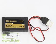 HP DiskOnModule А клас SATA 512MB Flash   SSD P N: 442893 001 for PC