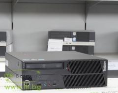 Lenovo ThinkCentre M90p А клас Intel Core i5 650 3200Mhz 4MB 4096MB DDR3 250 GB SATA DVD Slim Desktop