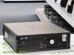 DELL OptiPlex 755 А клас Intel Core 2 Duo E6750 2660Mhz 4MB 2048MB DDR2 160 GB SATA Slim DVD Slim Desktop