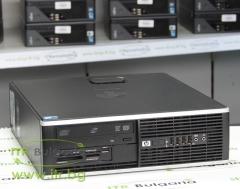 HP Compaq 6000 Pro SFF А клас Intel Dual Core E5300 2600Mhz 2MB 4096MB DDR3 160 GB SATA 2.5 DVD RW Slim Desktop  Card Reader