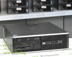 HP Compaq 6000 Pro SFF А клас Intel Dual Core E7500 2930Mhz 3MB 4096MB DDR3 160 GB SATA 2.5 DVD RW Slim Desktop  Card Reader