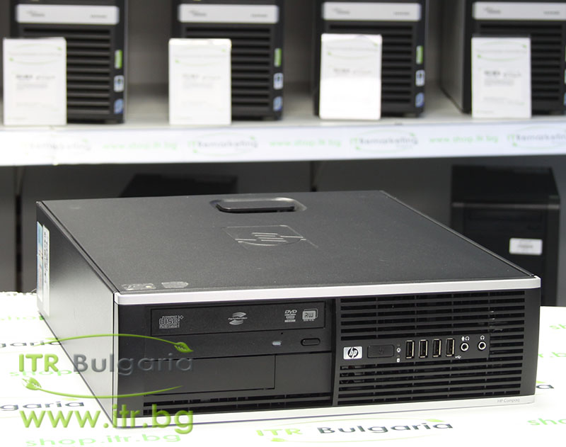 HP Compaq 6000 Pro SFF А клас Intel Dual-Core E6500 2930Mhz 2MB 4096MB DDR3 160 GB SATA DVD-RW Slim Desktop