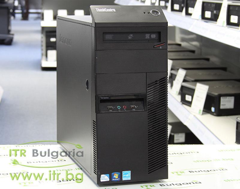 Lenovo ThinkCentre M82 А клас Intel Pentium G645 2900MHz 3MB 4096MB DDR3 250 GB SATA NO OD MiniTower