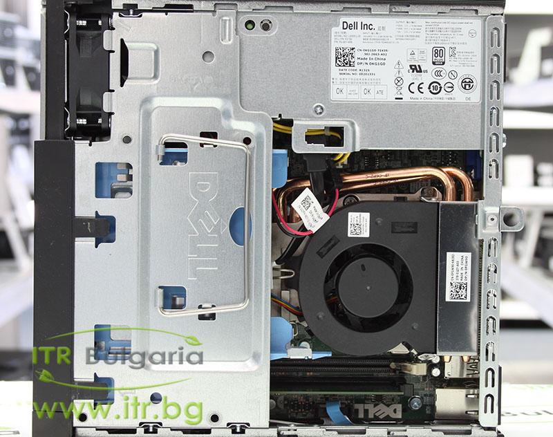 DELL OptiPlex 7010 А клас Intel Core i7 3770S 3100Mhz 8MB 8192MB DDR3 120 GB 2.5 Inch SSD Slim DVD-RW Ultra Slim Desktop