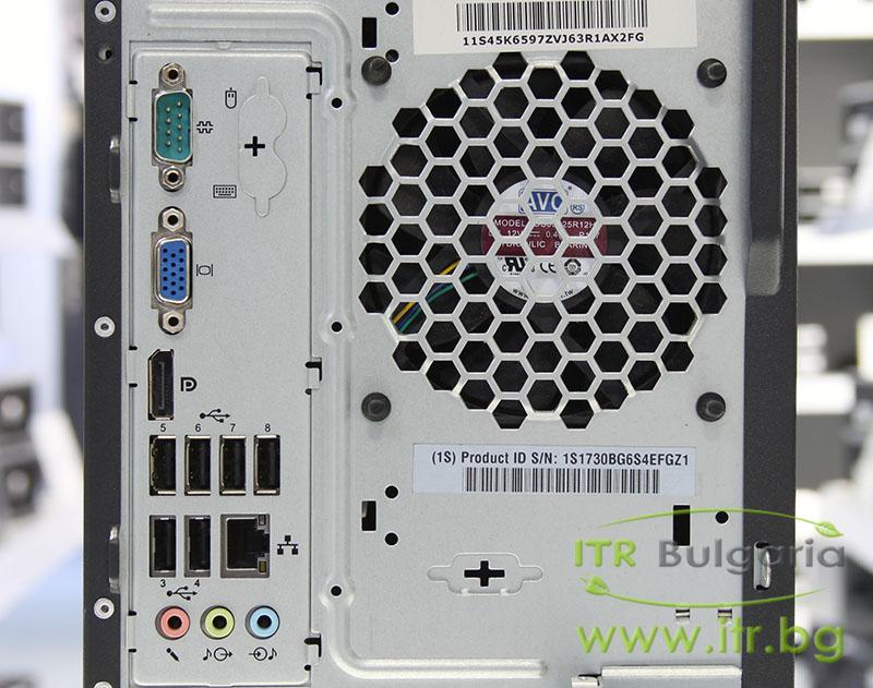 Lenovo ThinkCentre M81 А клас Intel Pentium G620 2600Mhz 3MB 4096MB DDR3 320 GB SATA DVD-RW MiniTower