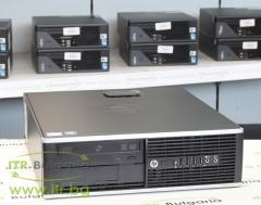 HP Compaq Elite 8200SFF А клас Intel Pentium G620 2600Mhz 3MB 4096MB DDR3 250 GB SATA DVD RW Slim Desktop