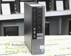 DELL OptiPlex 780 А клас Intel Core 2 Duo E8500 3160Mhz 6MB 4096MB DDR3 250 GB SATA 2.5 Slim DVD Ultra Slim Desktop