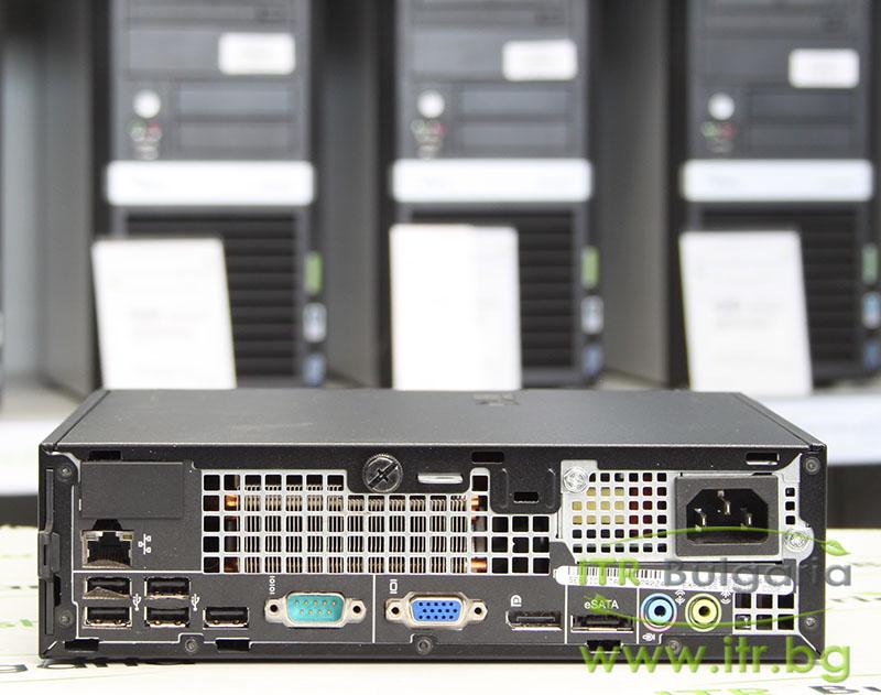 "DELL OptiPlex 780 А клас Intel Core 2 Duo E8500 3160Mhz 6MB 4096MB DDR3 250 GB SATA 2.5"" Slim DVD Ultra Slim Desktop"