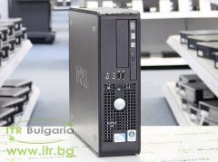 DELL OptiPlex 380 А клас Intel Dual Core E6700 3200MHz 2MB 4096MB 250 GB DDR3 SATA Slim DVD RW Slim Desktop