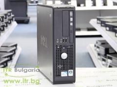 DELL OptiPlex 380 А клас Intel Dual Core E6700 3200MHz 2MB 4096MB 250 GB DDR3 SATA Slim DVD RW Slim Desktop