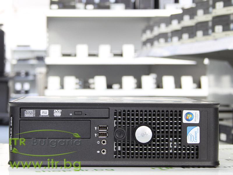 DELL OptiPlex 380 А клас Intel Dual-Core E6700 3200MHz 2MB 4096MB 250 GB DDR3 SATA Slim DVD-RW Slim Desktop