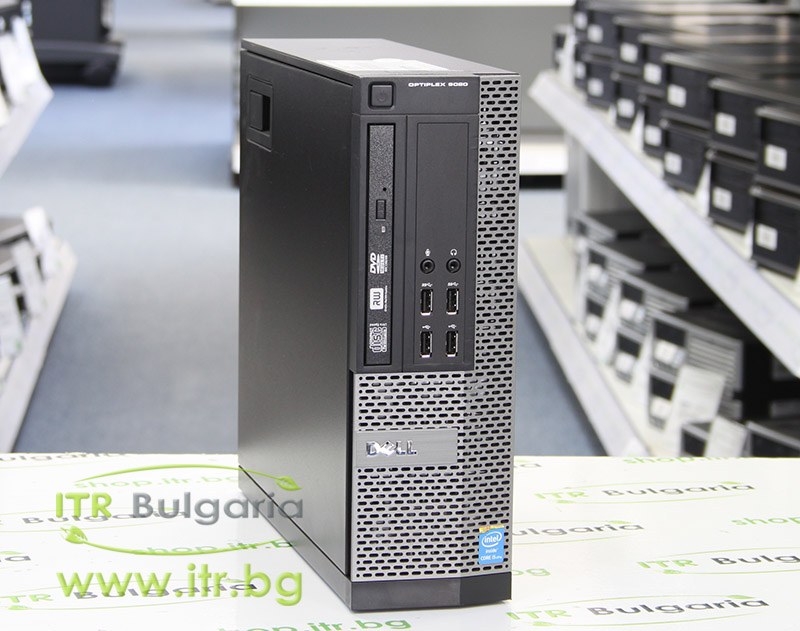 DELL OptiPlex 9020 А клас Intel Core i7 4790 3600MHz 8MB 8192MB DDR3 500 GB SATA Slim DVD-RW Slim Desktop