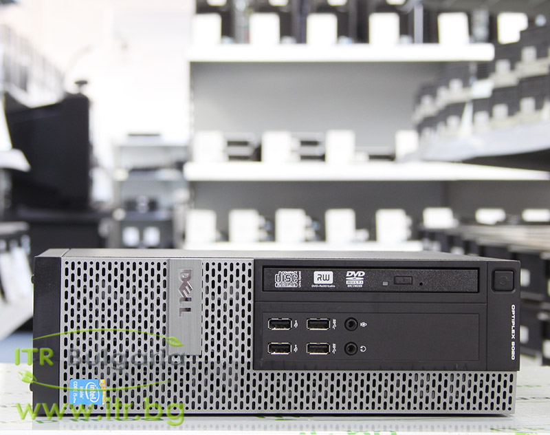 DELL OptiPlex 9020 А клас Intel Core i5 4590 3300MHz 6MB 4096MB DDR3 320 GB SATA NO OD Slim Desktop