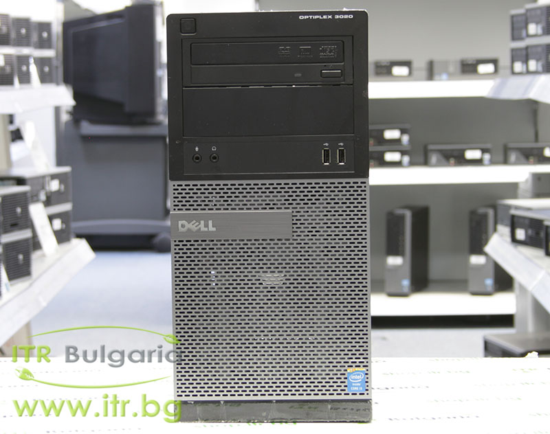 DELL OptiPlex 3020 А клас Intel Core i5 4590 3300MHz 6MB 4096MB DDR3 128 GB 2.5 Inch SSD DVD-RW MiniTower