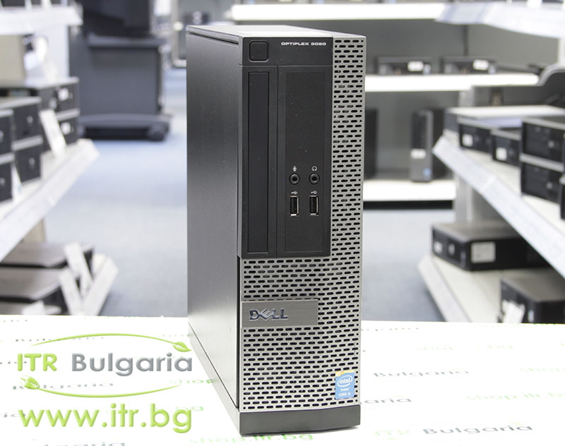 DELL OptiPlex 3020 А клас Intel Pentium G3240 3100MHz 3MB 4096MB DDR3 500 GB SATA NO OD Slim Desktop