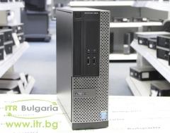 DELL OptiPlex 3020 А клас Intel Pentium G3240 3100MHz 3MB 4096MB DDR3 500 GB SATA NO OD Slim Desktop