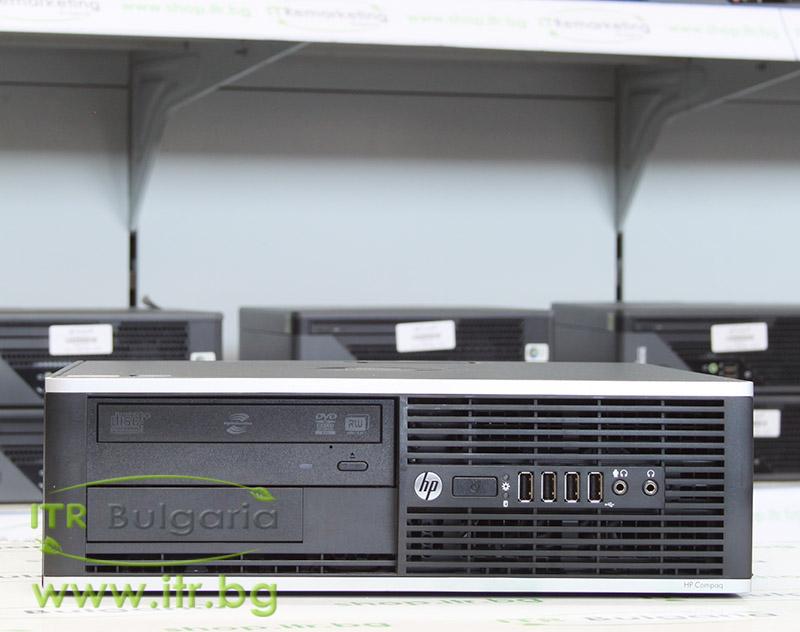 HP Compaq Elite 8300SFF А клас Intel Core i7 3770 3400Mhz 8MB 8192MB DDR3 320 GB SATA DVD-RW Slim Desktop