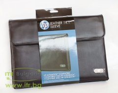 Чанти за лаптопи-HP-Leather-Ultra-Portable-Sleeve-Нов
