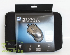 HP MINI VALUE KIT SLEEVE + MOUSE Нов 10.2 WU810AA for Notebook