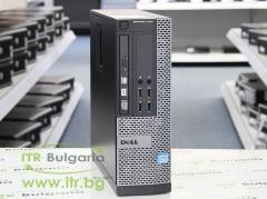 DELL OptiPlex 7010 А клас Intel Core i5 3550 3300Mhz 6MB 4096MB DDR3 320 GB SATA Slim DVD RW Slim Desktop