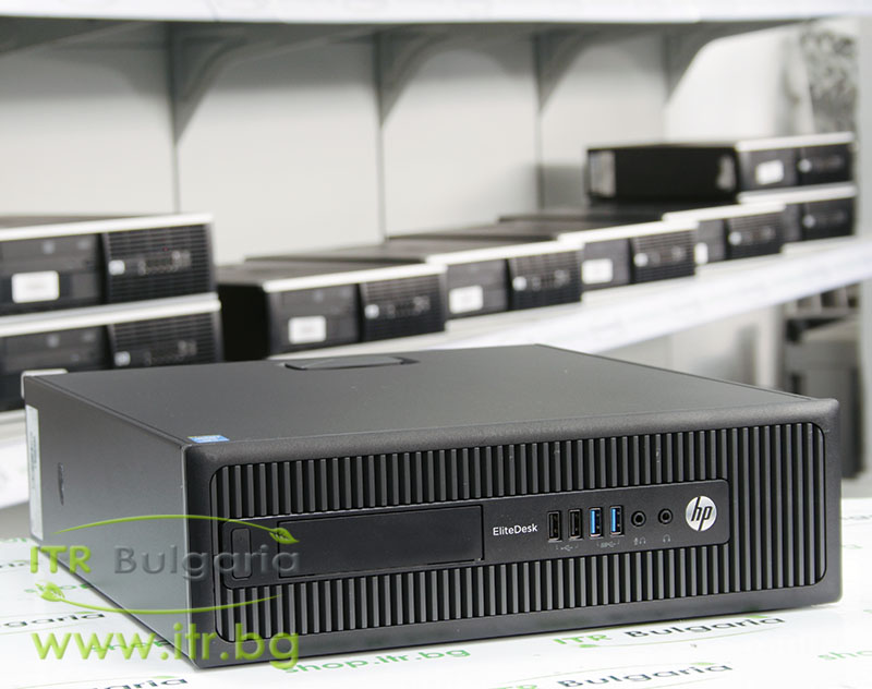 HP EliteDesk 800 G1 SFF А клас Intel Core i3 4130 3400MHz 3MB 4096MB DDR3 500 GB SATA Slim DVD-RW Slim Desktop