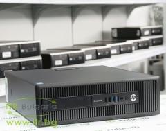 HP EliteDesk 800 G1 SFF А клас Intel Core i7 4790 3600MHz 8MB 8192MB DDR3 500 GB SATA NO OD Slim Desktop