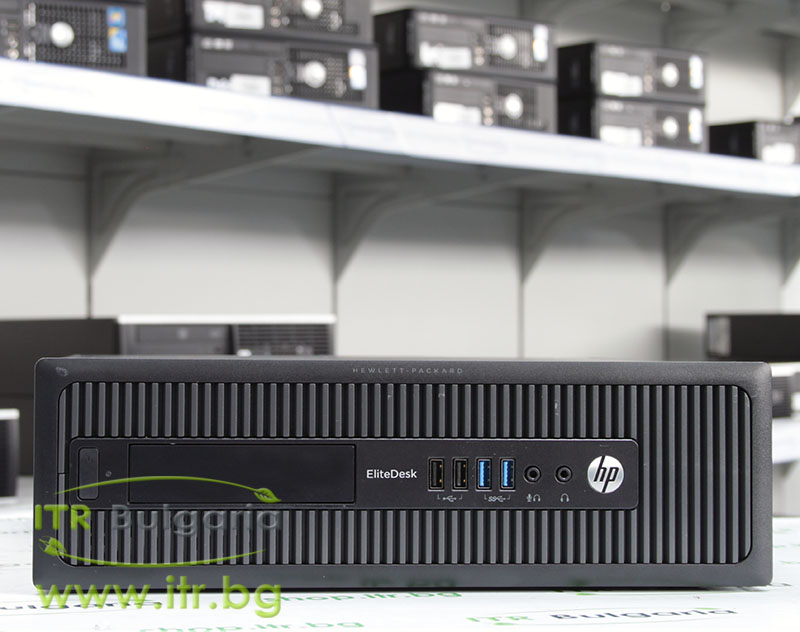 HP EliteDesk 800 G1 SFF А клас Intel Core i5 4570 3200MHz 6MB 4096MB DDR3 128 GB 2.5 Inch SSD Slim DVD-RW Slim Desktop
