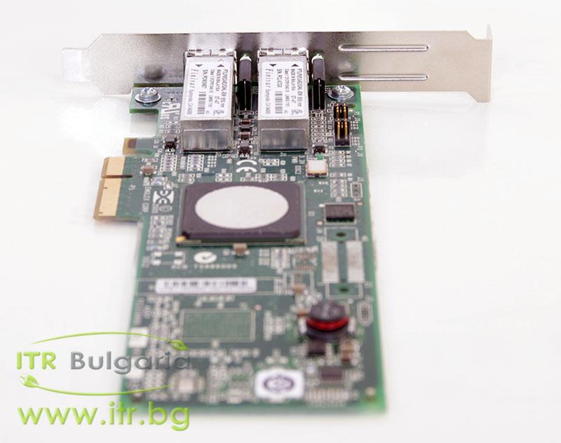 HP LPE11002 Dual Port А клас 4Gbit Fiber Optic PCIe Standard Profile 397740-001 for Server