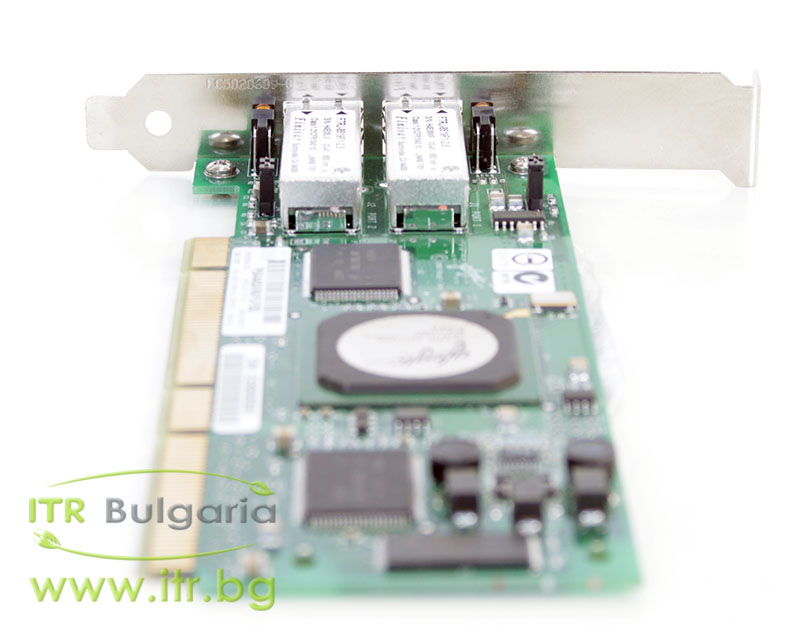 HP QLA2342 Dual Port А клас 2Gbit Fiber Optic PCI-X Standard Profile 283384-002 for Server