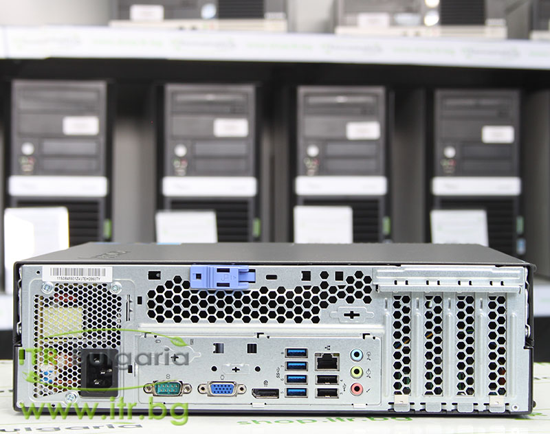Lenovo ThinkCentre M92p А клас Intel Core i5 3470 3200Mhz 6MB 4096MB 320 GB DDR3 SATA DVD-RW Slim Desktop