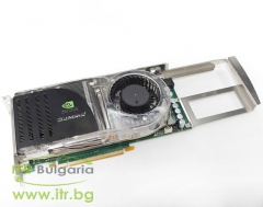 nVidia Quadro FX4600 А клас 768MB DDR3 PCI E Standard Profile 2xDVI TV OUT for PC 442154 001