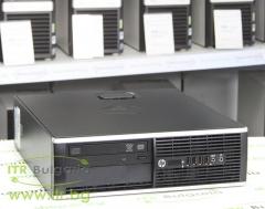HP Compaq 6300 Pro SFF А клас Intel Core i5 3470 3200Mhz 6MB 8192MB DDR3 128 GB 2.5 Inch SSD DVD Slim Desktop