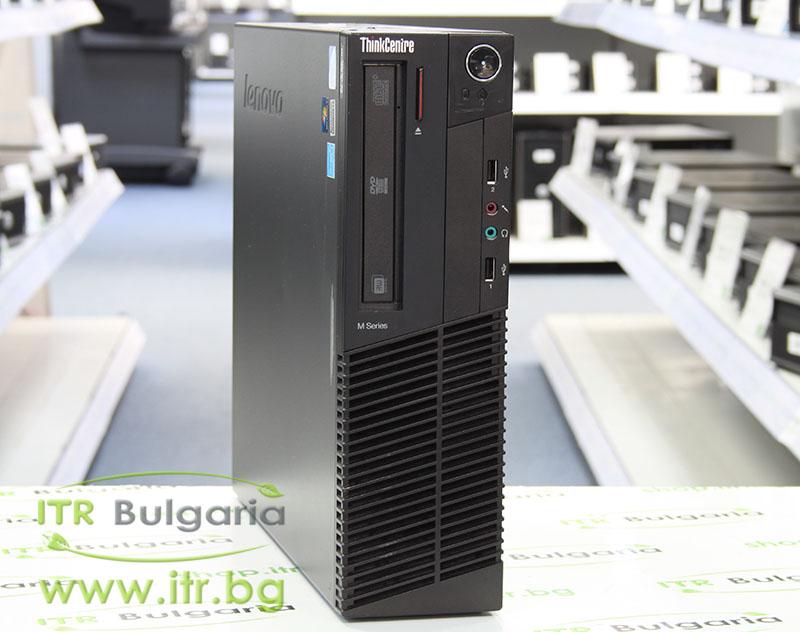 Lenovo ThinkCentre M81 А клас Intel Pentium G850 2900Mhz 3MB 4096MB 250 GB DDR3 SATA DVD-RW Slim Desktop