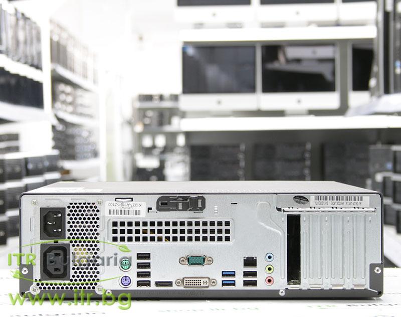 Fujitsu Esprimo E710 А клас Intel Pentium G645 2900MHz 3MB 4096MB DDR3 250 GB SATA NO OD Desktop