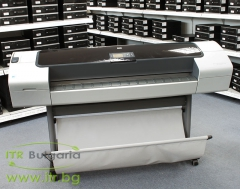 HP DesignJet T1100, Q6687A А клас 10 100 1000 44 large format printer, 2400 x 1200 dpi, 41m2 hr, HDD 40GB, No Cartridges