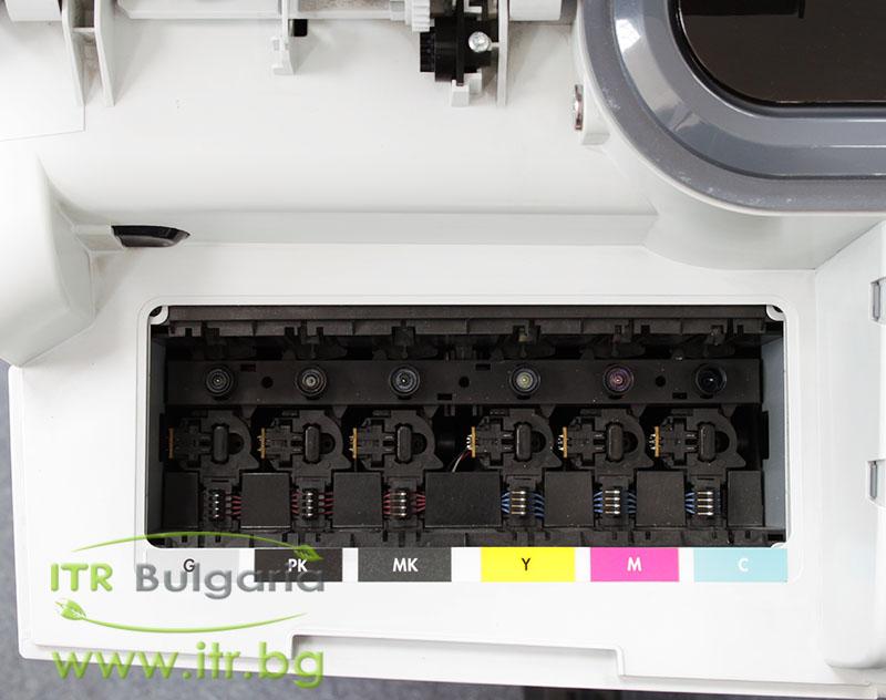 "HP DesignJet T1100, Q6687A А клас 10/100/1000 44"" large-format printer, 2400 x 1200 dpi, 41m2/hr, HDD 40GB, No Cartridges"