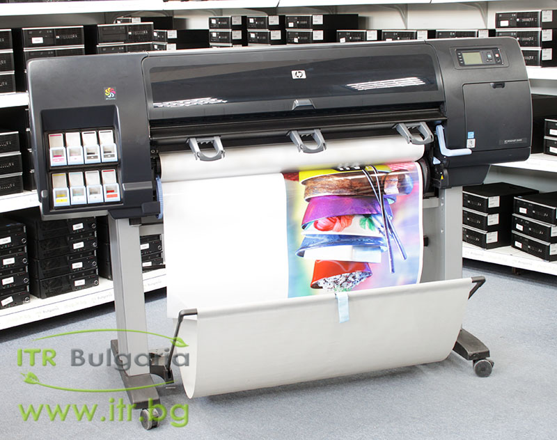 "HP DesignJet Z6200, CQ109A А клас 10/100/1000 42"" 1067mm, Photo, 2400 x 1200 dpi, 8 Colors , 108m2/hr, RAM 32GB, HDD 160GB"