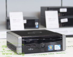 Fujitsu Esprimo Q9000 А клас Intel Core i3 370M 2400Mhz 3MB 4096MB So Dimm DDR3 320 GB SATA 2.5 Slim DVD RW Desktop Mini  WiFi Bluetooth