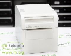 Fujitsu FP 510 White А клас Bon Printer Термо 203 x 203 dpi, 260 mm sec, RS 232 DB9 Powered 24V Male