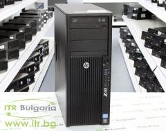 HP Workstation Z420 А клас Intel Xeon Quad Core E5 1603 2800MHz 10MB 16GB DDR3 ECC 2 бр. 500 GB 3.5 SATA DVD RW Tower  nVidia Quadro FX1800 768MB PCI E DVI 2xDisplayPort
