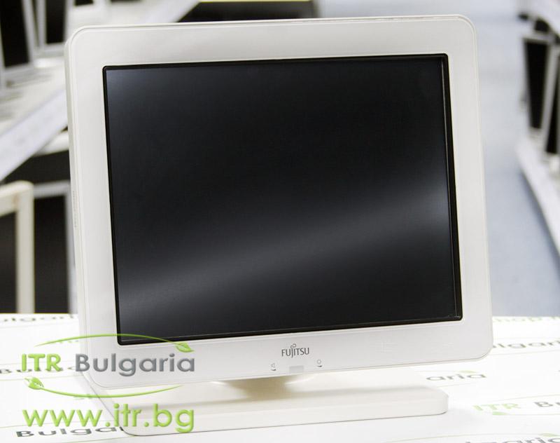 """Fujitsu 3000LCD12 А клас Touchscreen Monitor 12.1"""" USB, PoweredUSB 12V VGA DVI 800x600 SVGA 4:3 White TCO03 Stereo Speakers for POS"""