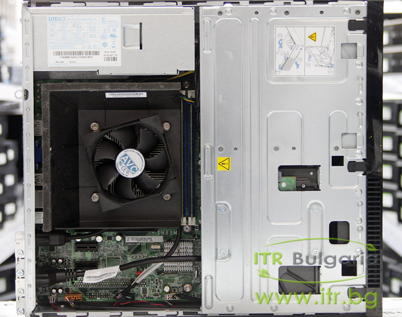 Lenovo ThinkCentre E73 А клас Intel Core i5 4430S 2700MHz 6MB 4096MB DDR3 500 GB SATA DVD-RW Slim Desktop  Card Reader