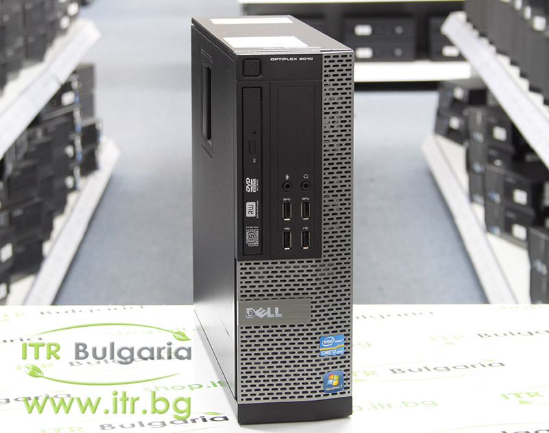 DELL OptiPlex 9010 А клас Intel Core i7 3770 3400Mhz 8MB 8192MB DDR3 320 GB SATA Slim DVD-RW Slim Desktop