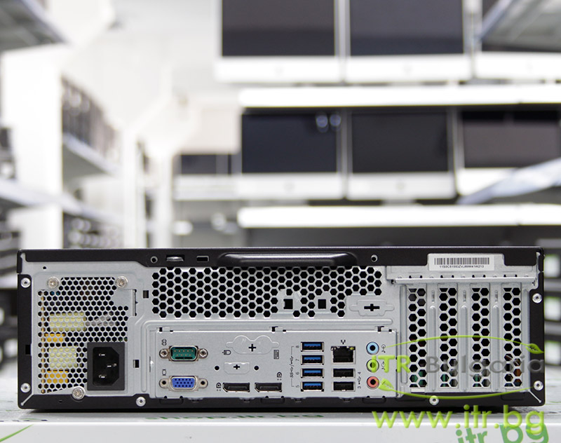 Lenovo ThinkCentre M93p А клас Intel Core i5 4590 3300MHz 6MB 4096MB DDR3 120 GB 2.5 Inch SSD NO OD Slim Desktop